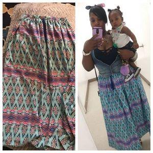 Bohemian inspired skirt